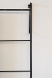 Close-up image of the ladder on the Cloakroom Mirror & Storage Ladder