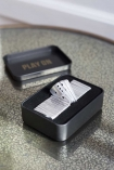 Image of the Mini Travel Domino Set with the lid off