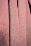 Close-up image of the Dusky Pink Velvet Throw