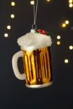 Image of the Festive Beer Hanging Christmas Decoration