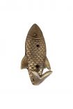 Image of the Fish Coat Hook on a white background