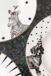 Image of the Zebra & Dachshund Dog animal plates