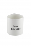 Love Machine Mug on a white background