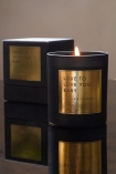 Image of the Rockett St George Love To Love You Baby - Leather & Saffron Candle & presentation box