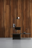 Lifestyle image of the Oak NLXL Wood Panel Wallpaper by Mr & Mrs Vintage