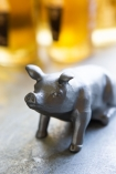 Close-up lifestyle image of the Pig Bottle Opener