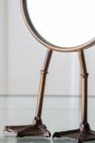 Image of the lower half of the Bronze Bird Feet Table/Vanity Mirror