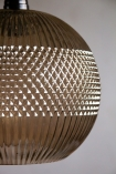 Close-up image of the detailing on the Pacific Glass Pendant Light