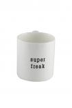 Super Freak Mug on white background