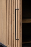 Close-up image of the door on the Timber Strips Sideboard