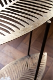 Close-up image of the Two-Tier Leaf Side Table