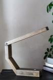 Image of the Unique Design Wooden LED Table Task Lamp slightly open