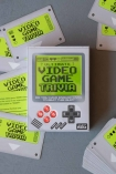 Image of the box and cards from the Video Game Trivia