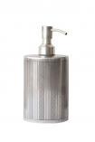 cutout image of Antique Style Soap & Lotion Dispenser on white background