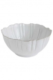 cutout image of Antique White Chateau Bowl on white background