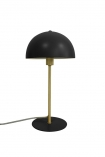 cutout Image of the Art Deco Canopy Table Lamp - Matt Black on a white background