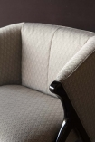 Close-up of the seat on the Art Deco Style Armchair