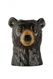 cutout Image of the Beautiful Bear Vase on a white background