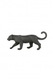 cutout Image of the Black Stalking Leopard Ornament on a white background