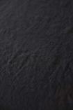 detail image of material of Black Linen Tablecloth