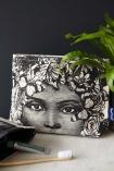 Butterfly Lady Wash Bag / Make-Up Bag
