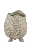 cutout image of Quirky Little Creature Ceramic Flower Pot With Feet on white background