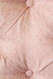 detail image of fabric on Cloud Herringbone Tweed Chair - Fille Pink