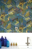 Cole & Son Geometric II - Miami Wallpaper - 2 Colours Available