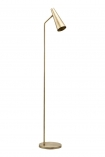 Image of the Contemporary Brass Floor Lamp on a white background