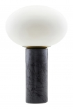 cutout image of Cruz Opal Table Lamp on white background