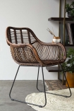 Eco-Friendly Rattan Dining Chair