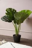 Faux Monstera Jungle Plant