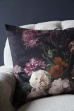 Floral Bouquet Velvet Cushion