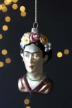 Lifestyle image of the Frida Inspired Christmas Tree Decoration