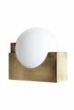 cutout Image of the Atlas Globe Wall Light on a white background