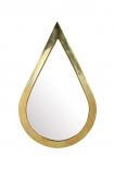 Gold Teardrop Mirror