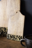 Ink Dipped Mango Wood Chopping Board - Small
