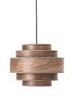 cutout Image of the Walnut Layered Ceiling Pendant Light on a white background