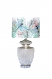 Image of the Matthew Williamson Palm Springs Table Lamp & Dragonfly Shade on a white background