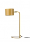 cutout Image of the Modern Gold Accent Table Lamp - Ochre Gold on a white background