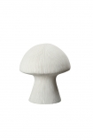 cutout Image of the White Sandstone Mushroom Table Lamp on a white background