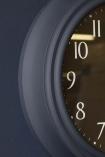 Newgate Bold Petrol Blue & Black Dial Silent Wall Clock