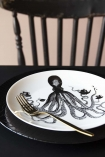 Octopus For Tea Fine China Plate