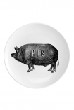 Pig Fine China Plate