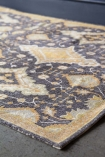 Pune Mustard & Gold Cotton Dhurrie Rug
