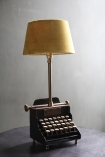 Qwerty Typewriter Table Lamp