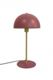 Image of the Art Deco Canopy Table Lamp - Berry Red on a white background