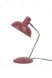 cutout Image of the Retro Desk Lamp - Berry Red on a white background