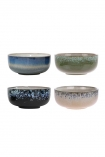 Set Of 4 Earthenware Bowls