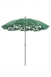 cutout image of Shadylace Parasol - Green on white background